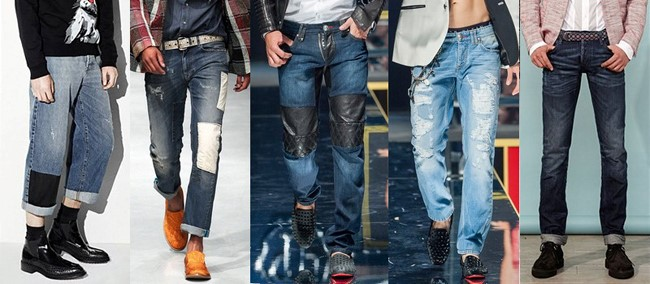 best men s jeans trends spring summer 2016 dress trends. Black Bedroom Furniture Sets. Home Design Ideas
