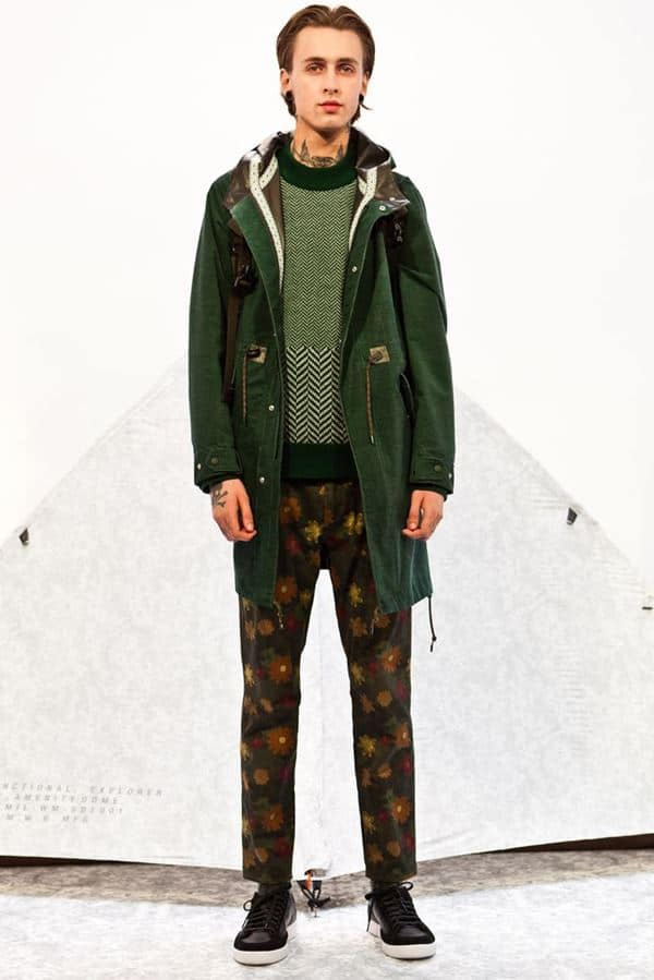 Men's clothing autumn winter 2015-2016 White-Mountaineering