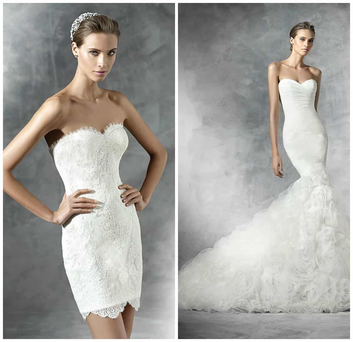 Short wedding dresses 2016 from Pronovias
