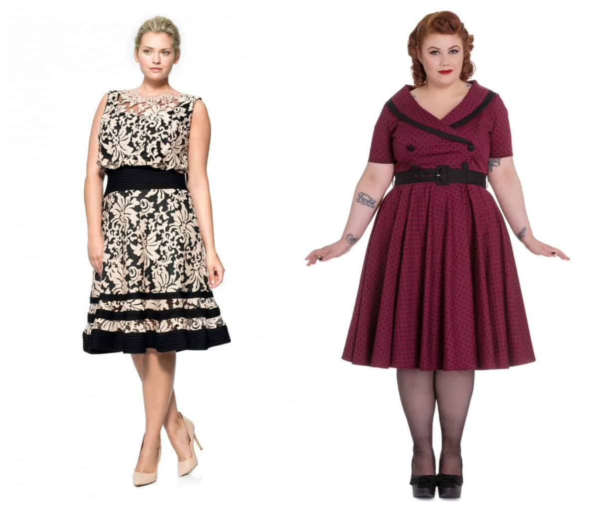Women S Plus Size Cocktail And Evening Dresses Trends Autumn Winter 2015 2016 Dress Trends