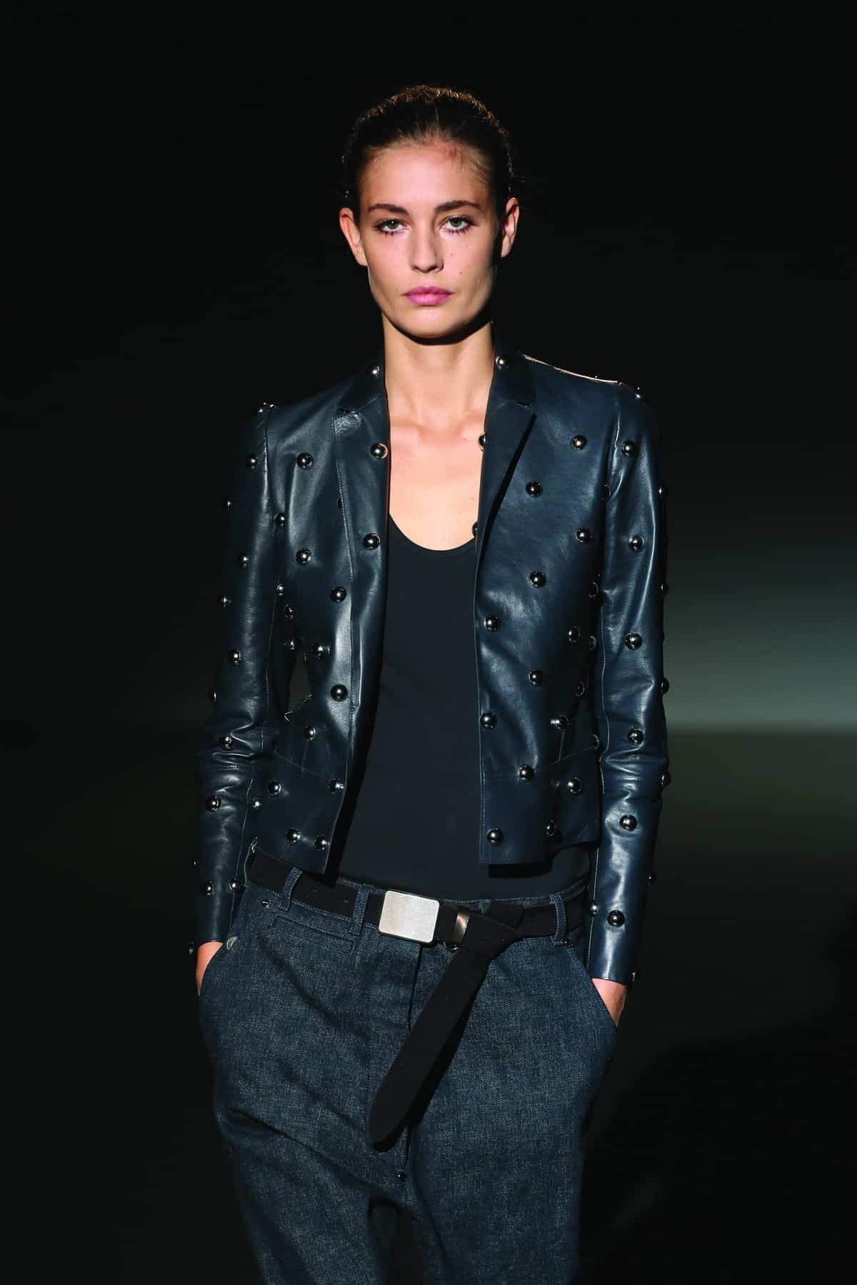 Women's leather jacket trends spring 2016