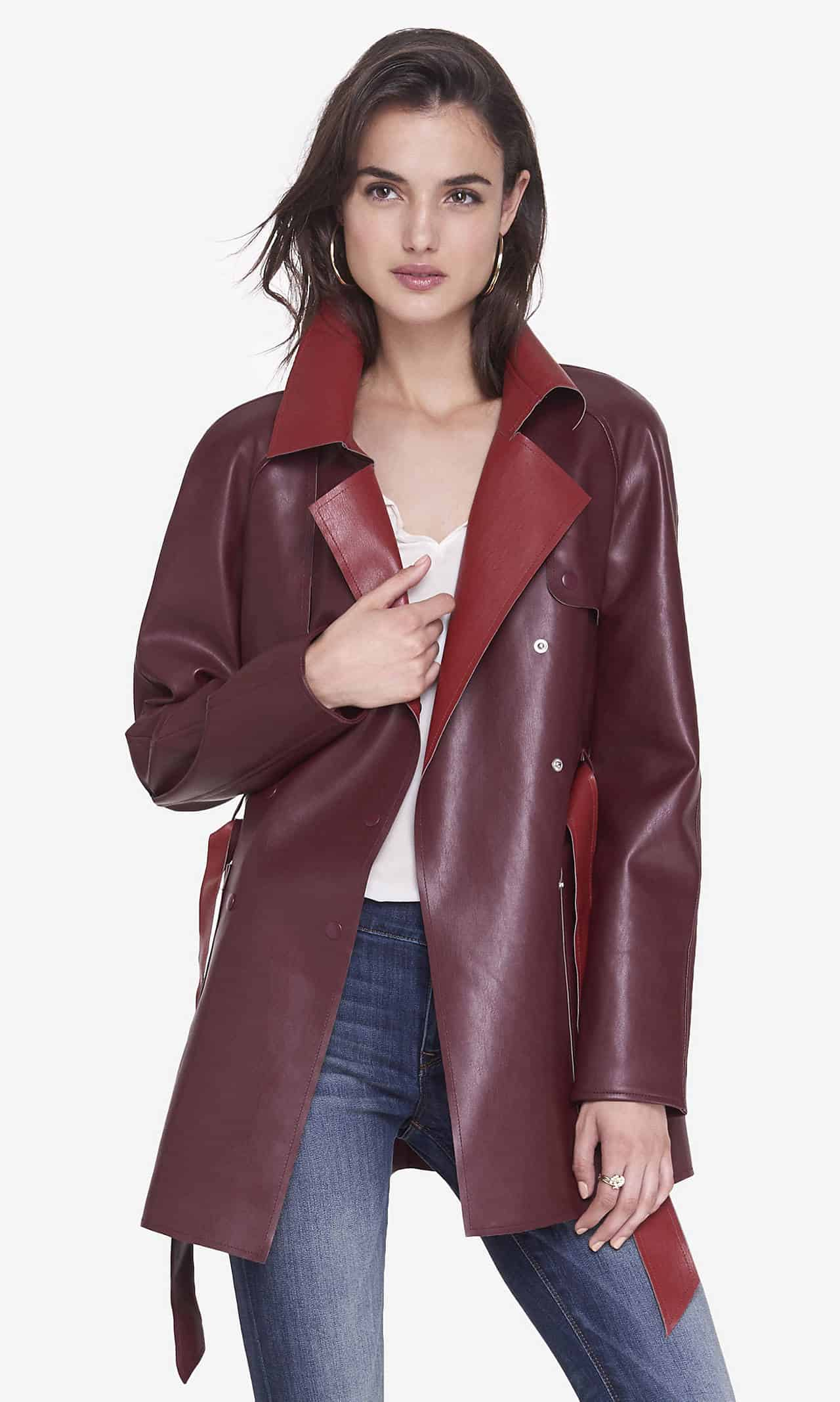 Women S Leather Jacket Trends Spring 2016 Dress Trends