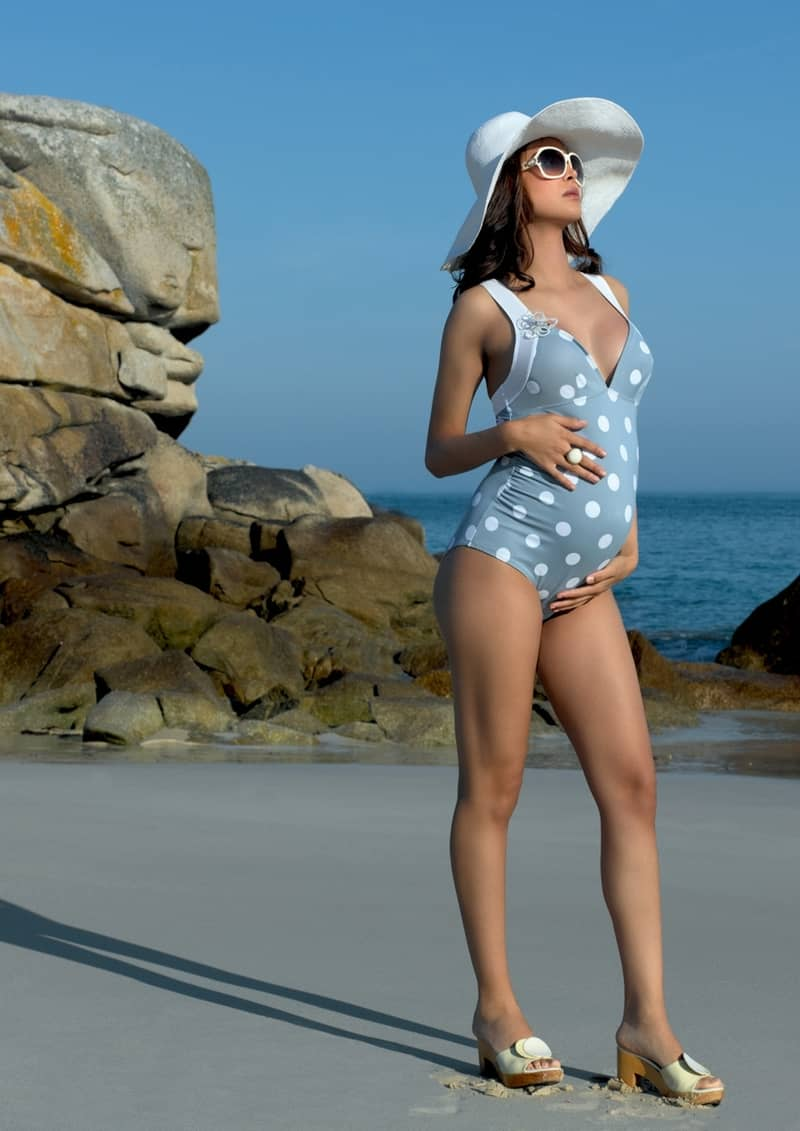 Maternity bathing suits trends 2016