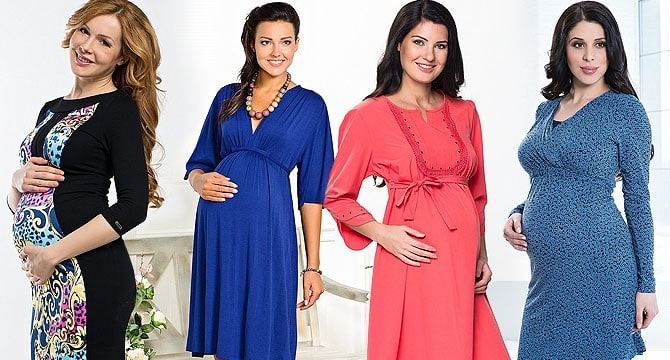 Maternity-fashion-trends-2016-dresses-for-pregnant-women-dresses-bright-colors