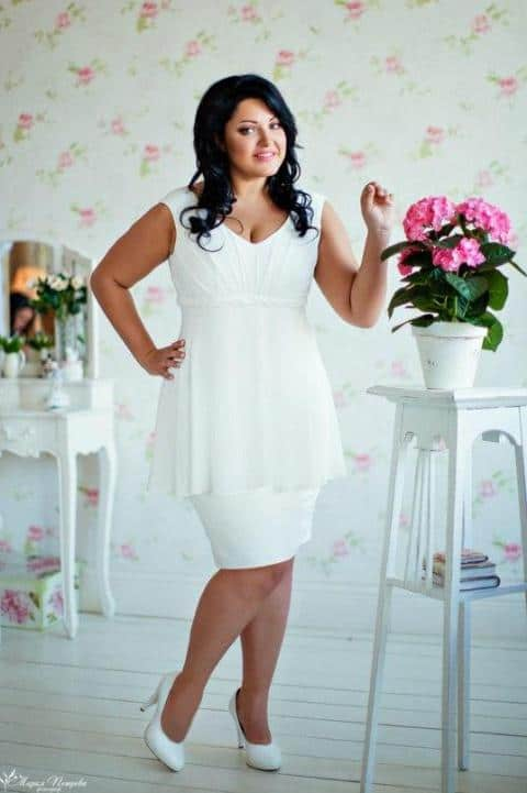 Plus size bridesmaid dresses trends 2016 dress trends for Wedding dress ideas for short brides