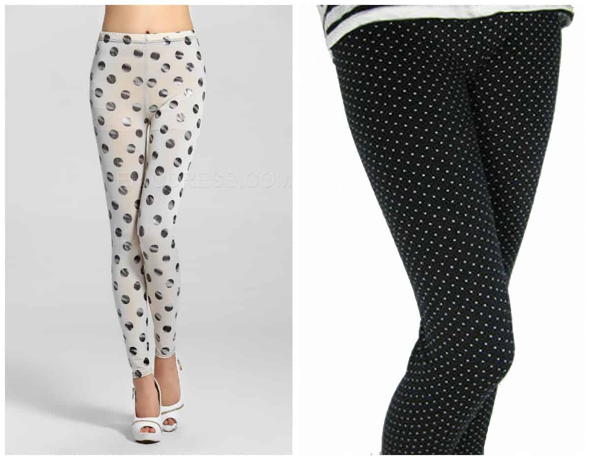 Polka-dots-leggings