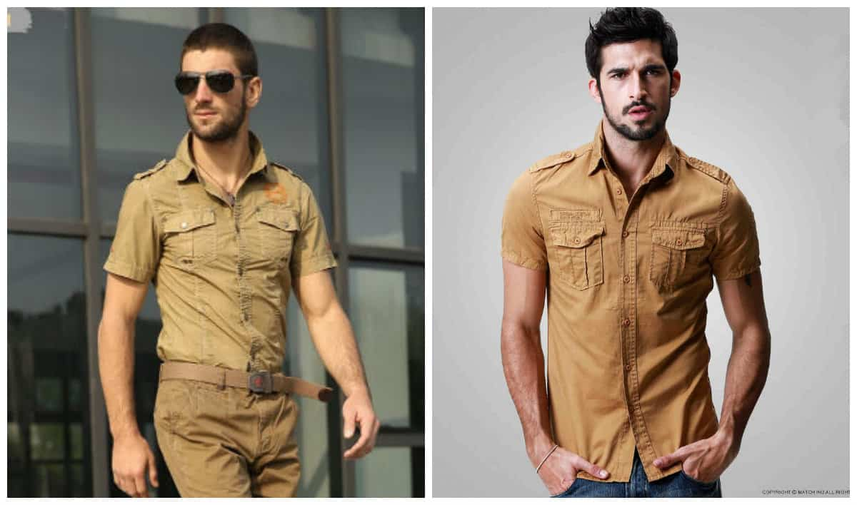 Military Mens Fashion Style