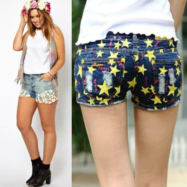 Trendy-womens-shorts-2016-womens-jean-shorts