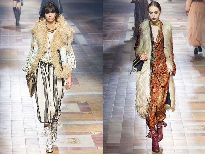 Fur-vests-2017- Boho-Style-vests-Lanvin