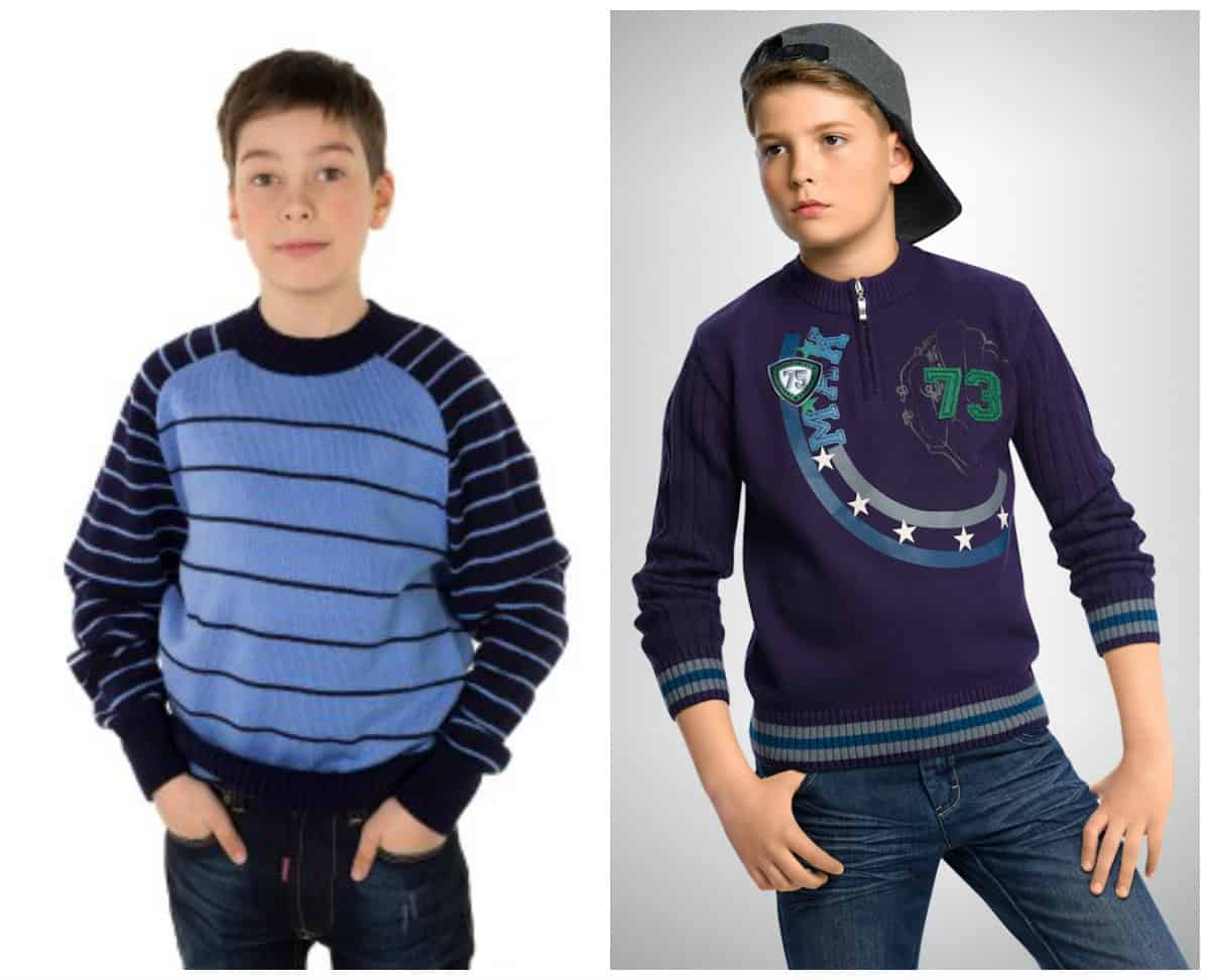 Fashionable boys clothes