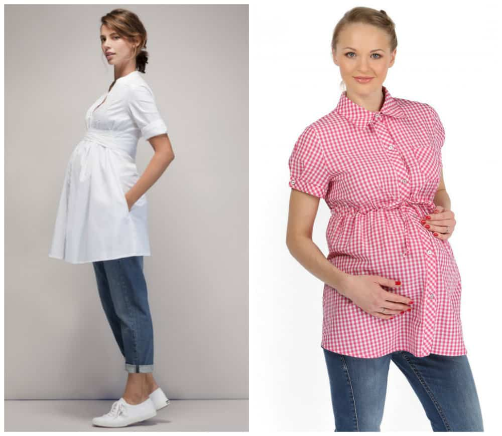 Maternity clothes; maternity fashion trends and tendencies ...