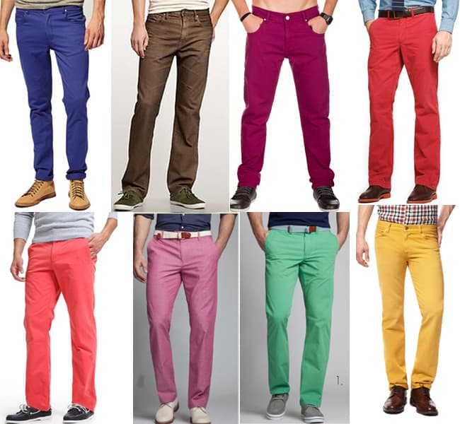 Colored jeans for men make a great splash of color when paired with an otherwise monochrome ensemble, and can become the centerpiece of an outfit when teamed up with other elements in coordinating shades. Anchor your most ambitious looks with colored pants for men from Lucky.