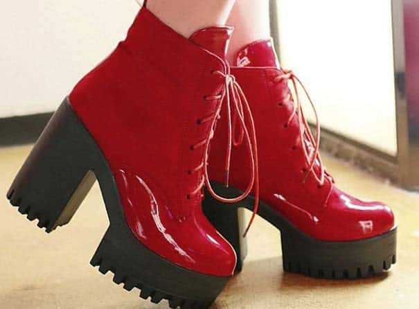 Cool La Chance Women Boots 2017 New Fashion Leather Winter Boots For Women
