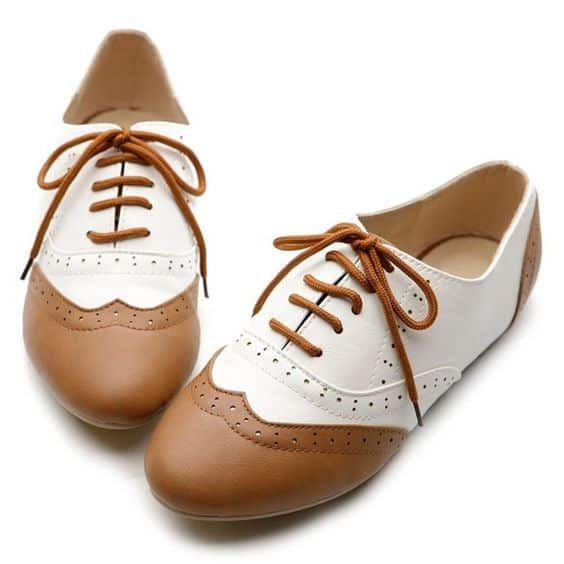 Oxford Type Shoes Women