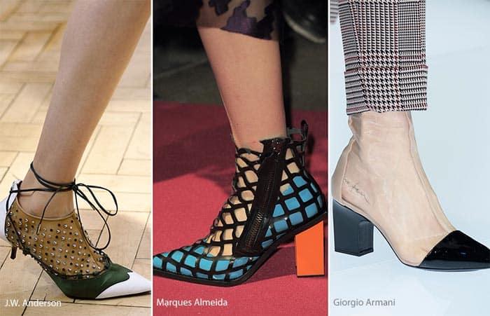 Elegant Home  Spring  Summer 2017 Womens Shoes Michel Vivien Leather 358289