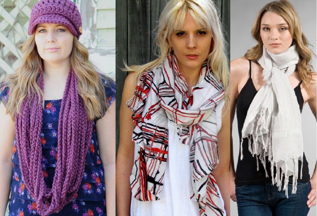 scarf trends 2017 women s scarves dress trends. Black Bedroom Furniture Sets. Home Design Ideas