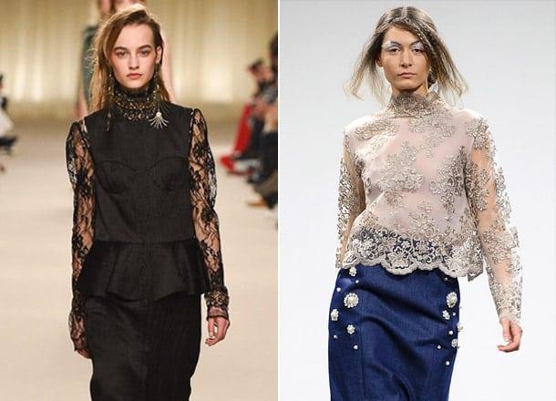 Sleeve-grid-Blouse-trends-2017-blouses-for-women-blouse-design-2017