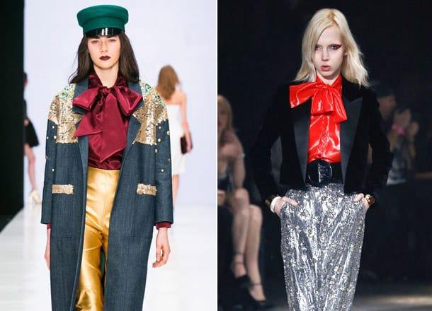 Large-bows-Blouse-trends-2017-blouses-for-women-blouse-design-2017