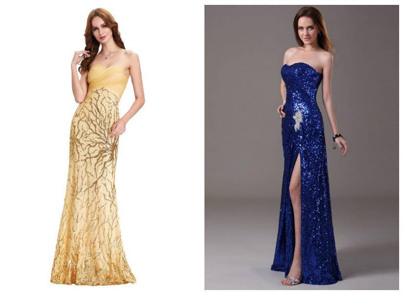Christmas dresses 2018: trends of party dresses