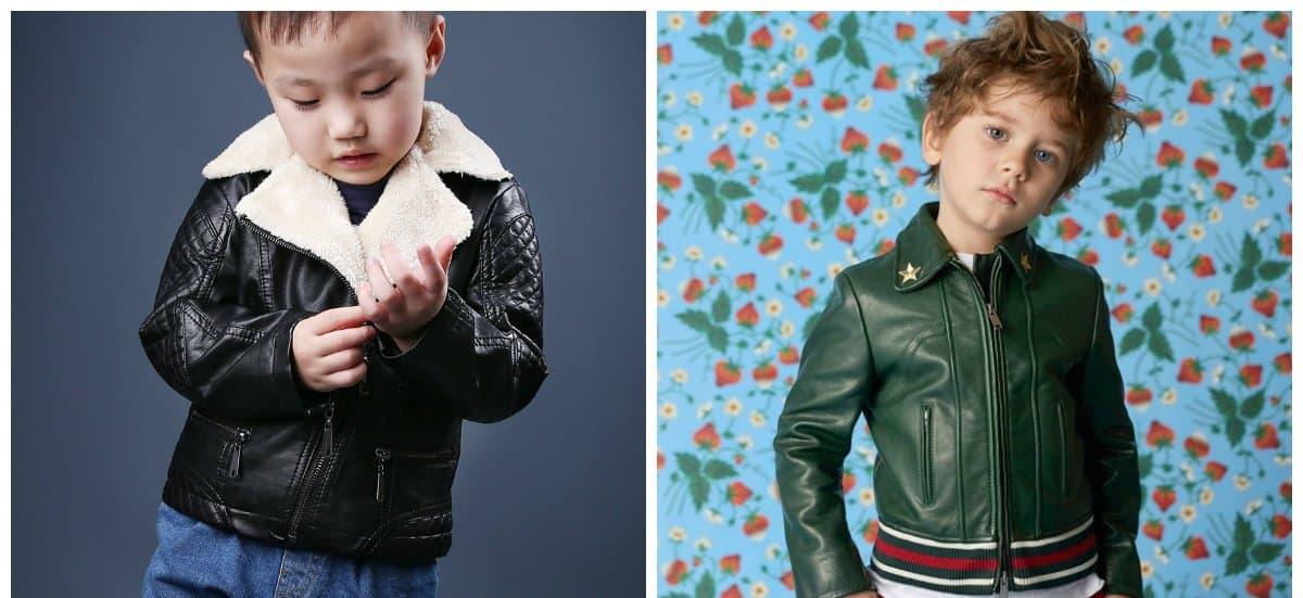 boys wear, leather jackets for boys