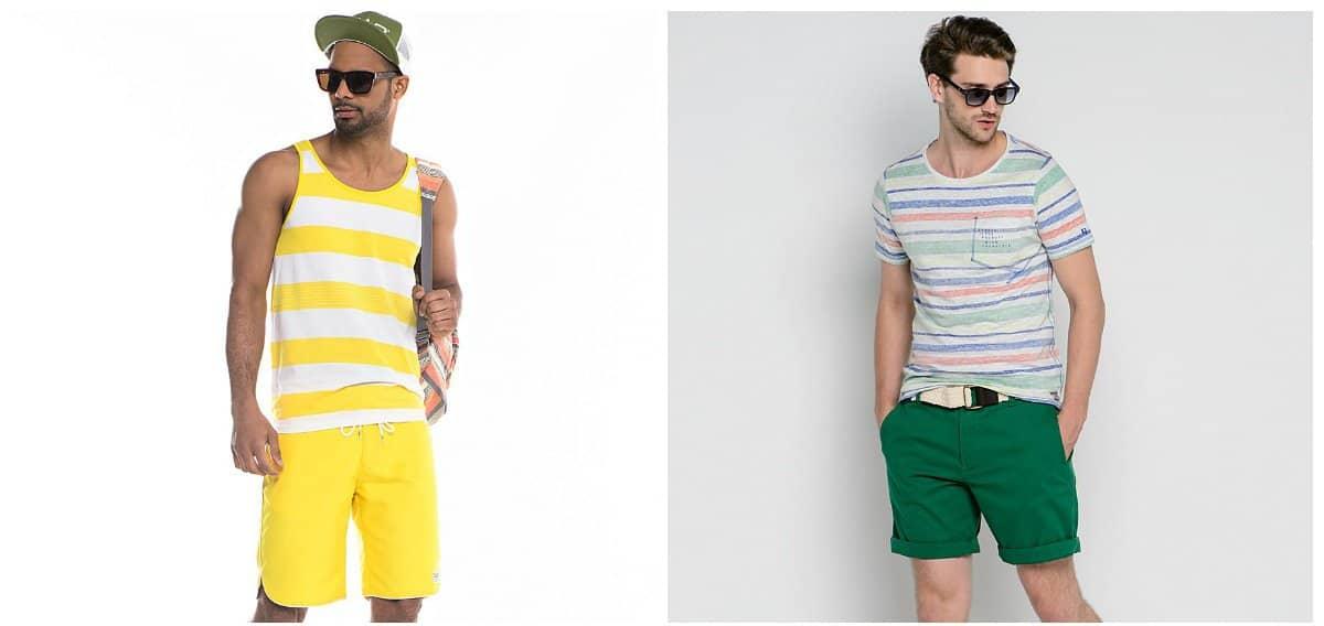 mens fashion shorts, trendy materials for mens shorts