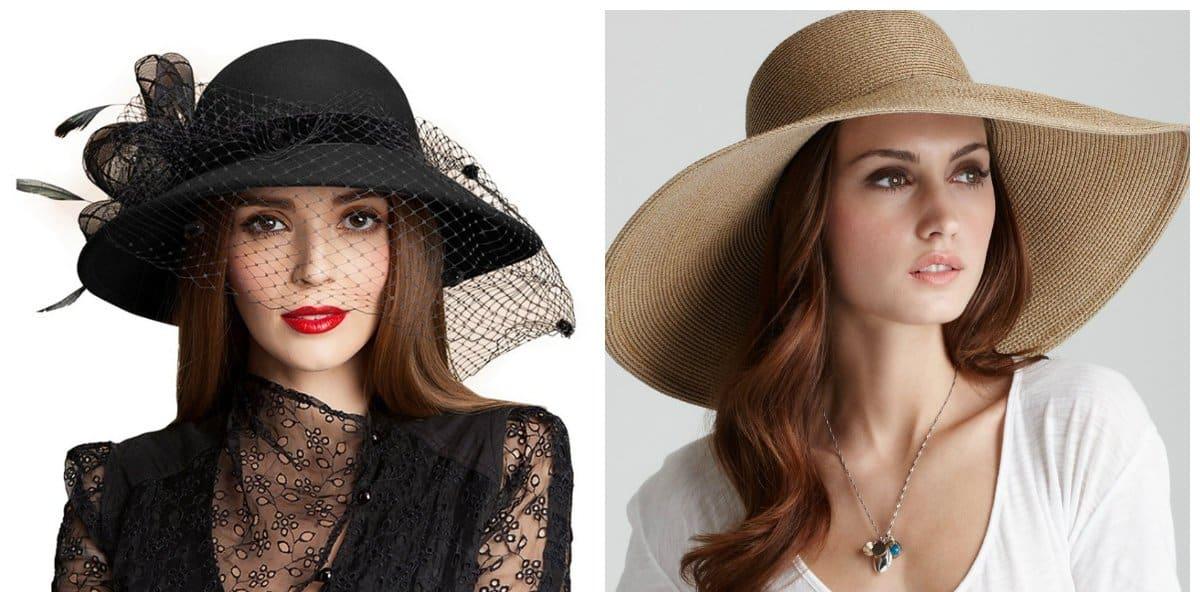 summer hats for women, wide-brimmed hats