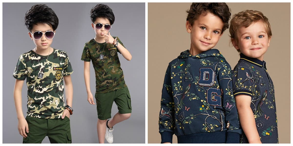 kids fashion 2019, colors and patterns of boys fashion 2019