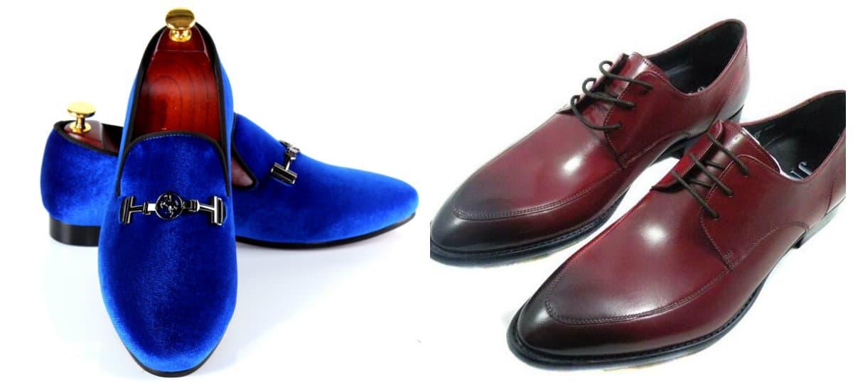 mens shoes 2019, blue mens shoes, burgundy mens shoes
