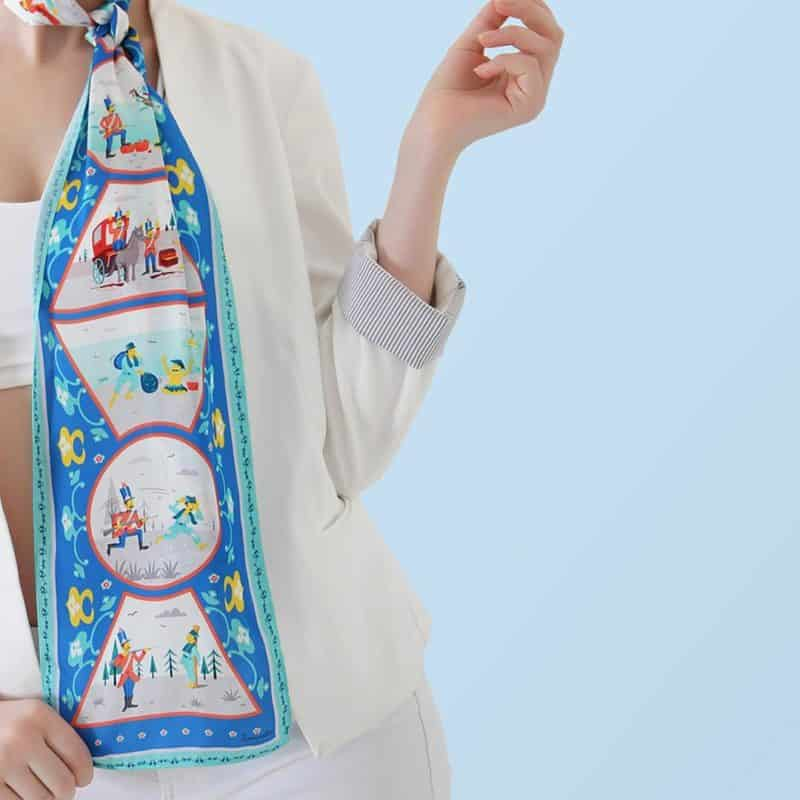 Scarves 2020: Images, Tips and Women's Scarf Trends 2020