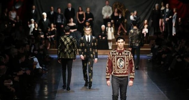 Men's Fashion Show Winter 2016 from Dolce & Gabbana