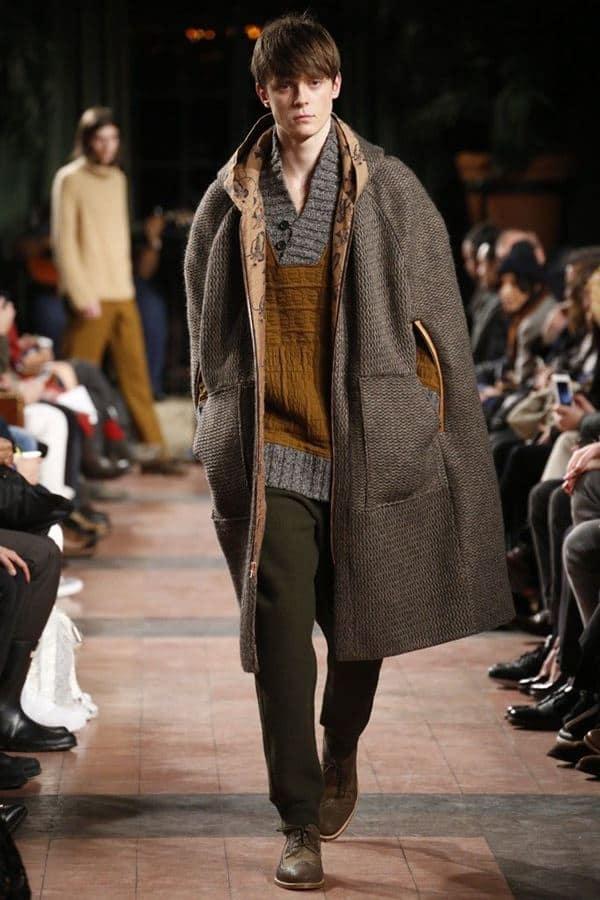 Men's clothing autumn winter 2015-2016 Billi-Reid