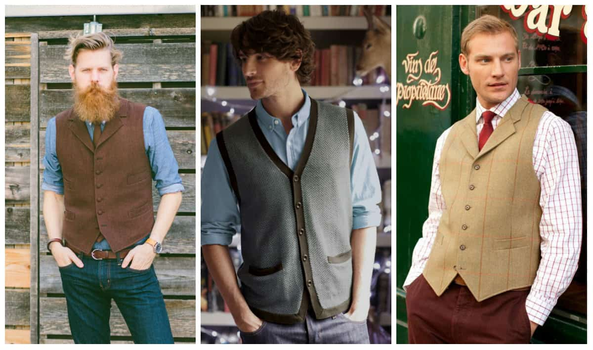 Men's clothing autumn winter 2015-2016 vests