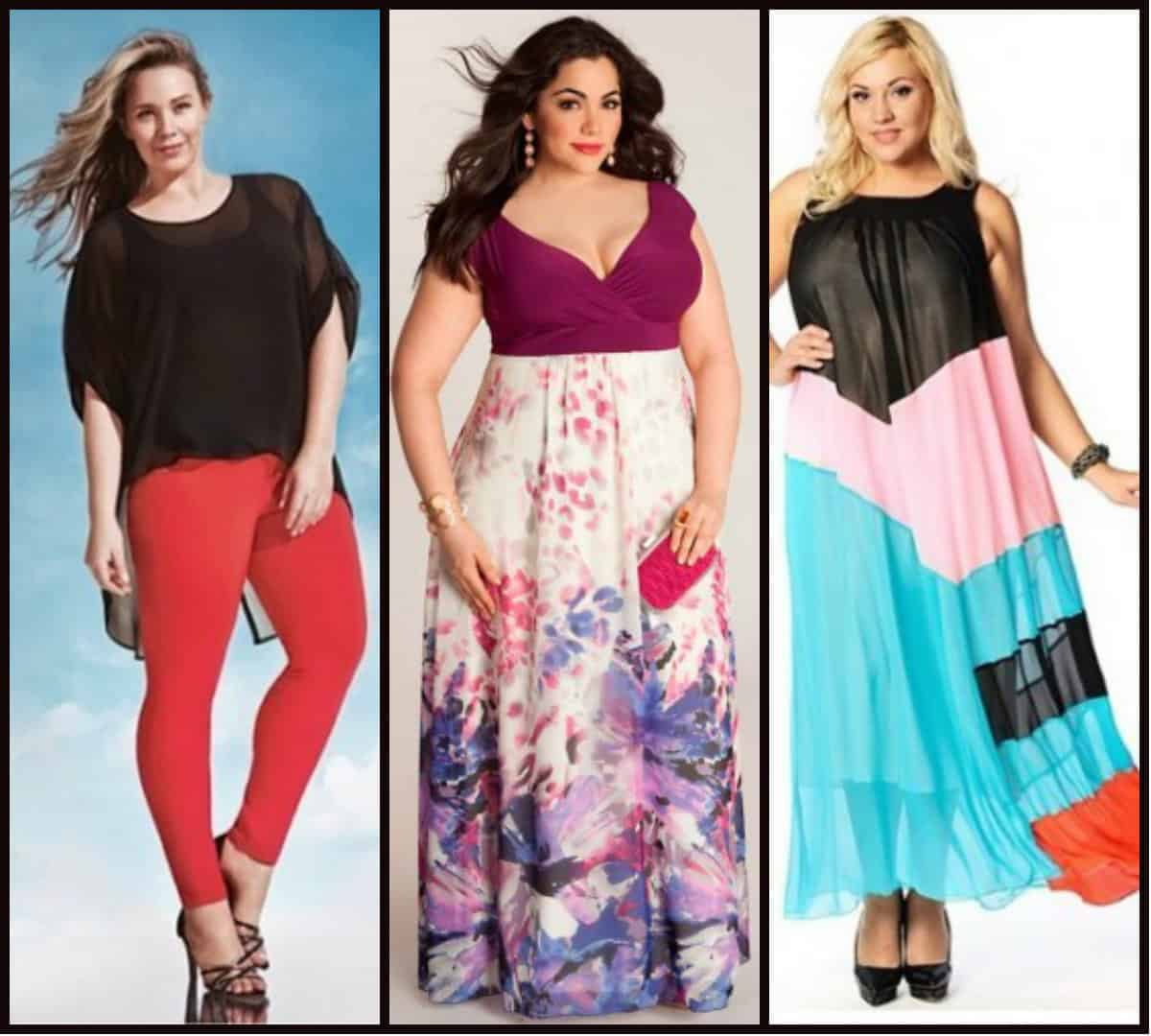 Women's plus size clothing trends Spring Summer 2016 – DRESS TRENDS