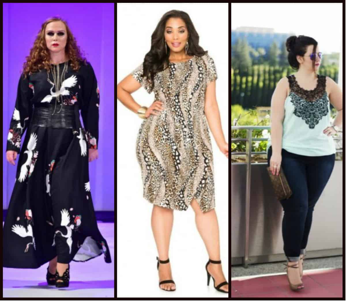 Women's plus size clothing trends Spring Summer 2016 - DRESS TRENDS