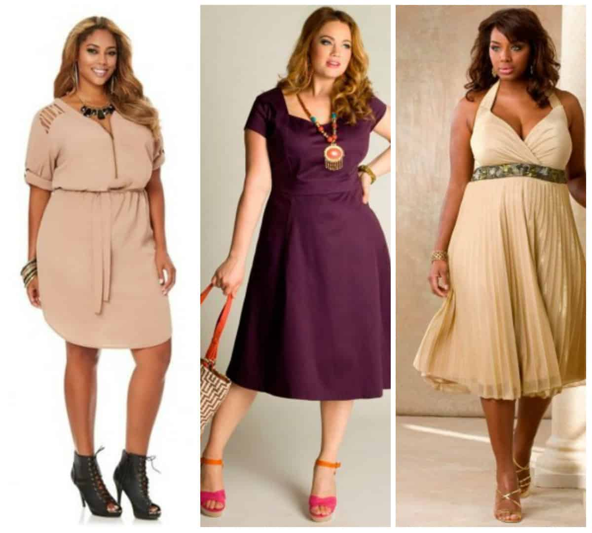 Women\'s plus size clothing trends Spring Summer 2016 - DRESS TRENDS