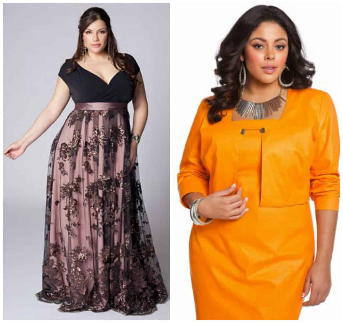Women's plus size cocktail and evening dresses 2016 1