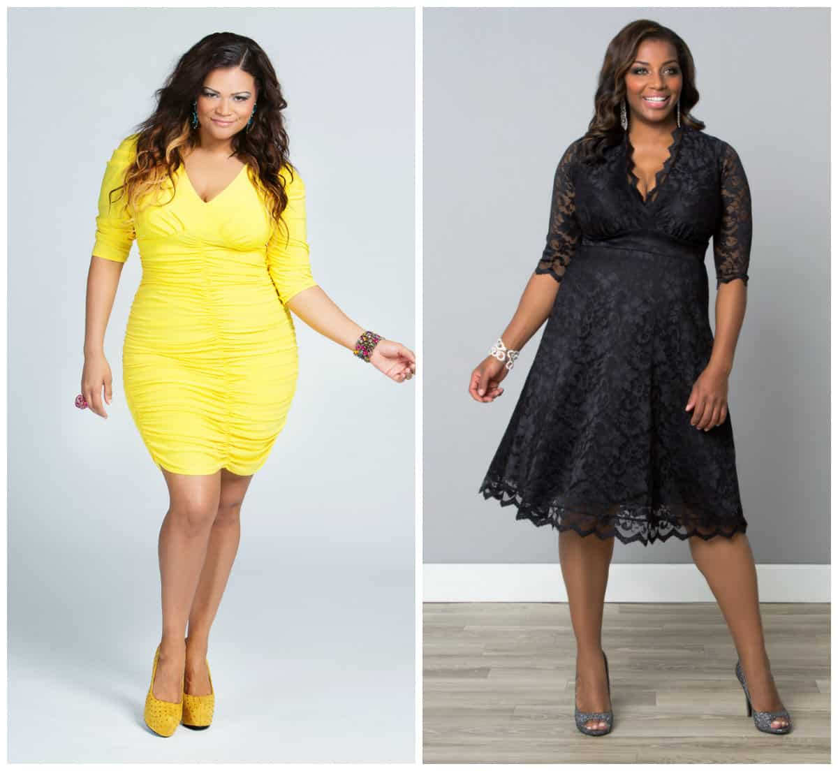Women's plus size cocktail and evening dresses trends ...
