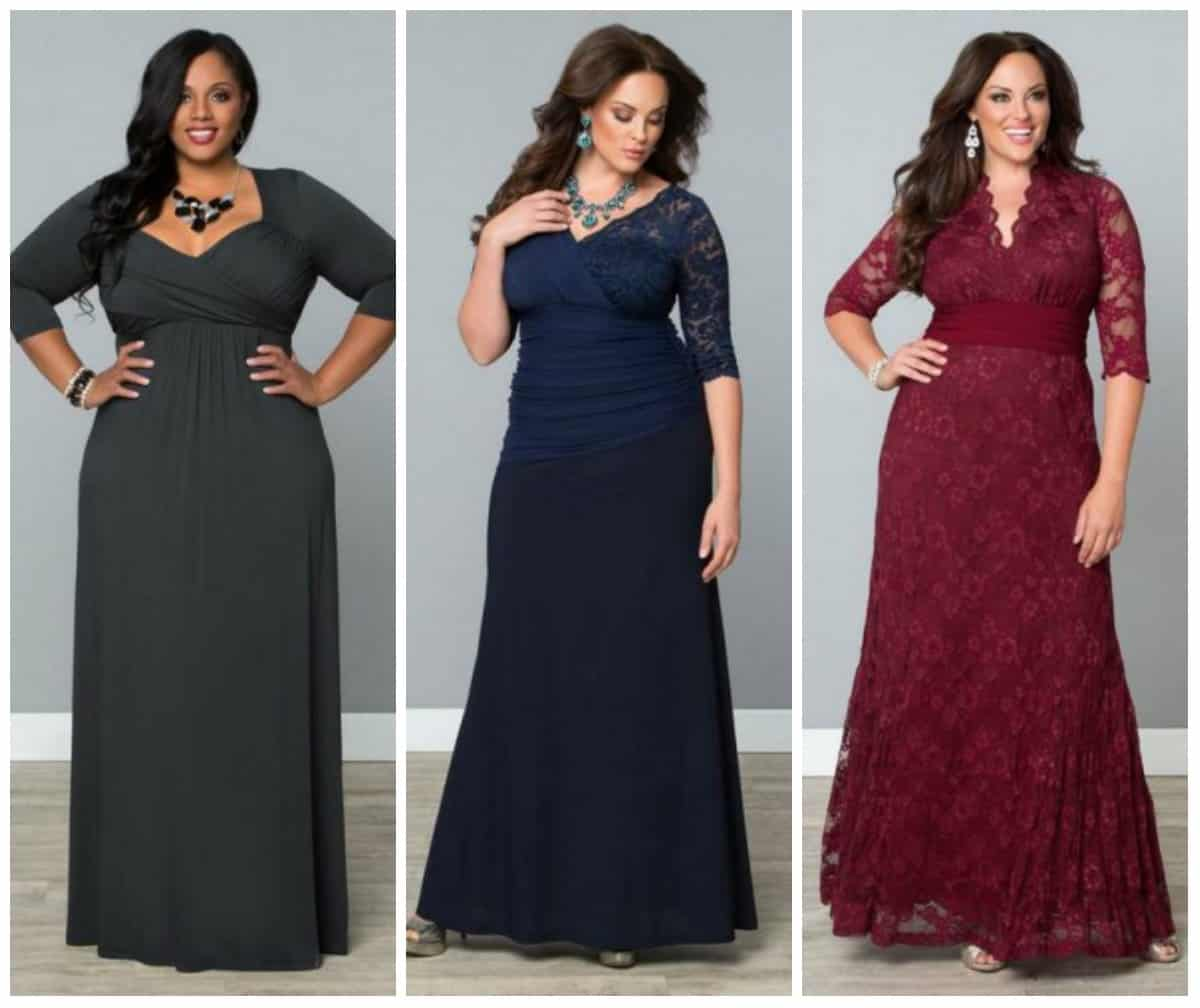 Women\'S Plus Size Evening Dresses - Formal Dresses