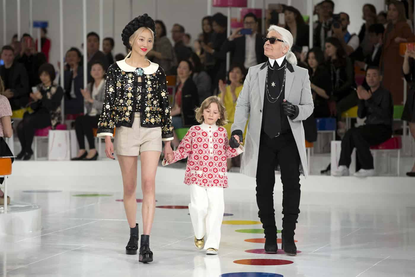 Fashion trends 2017 spring - Karl Lagerfeld Kids Collection Spring Summer 2016 Dress