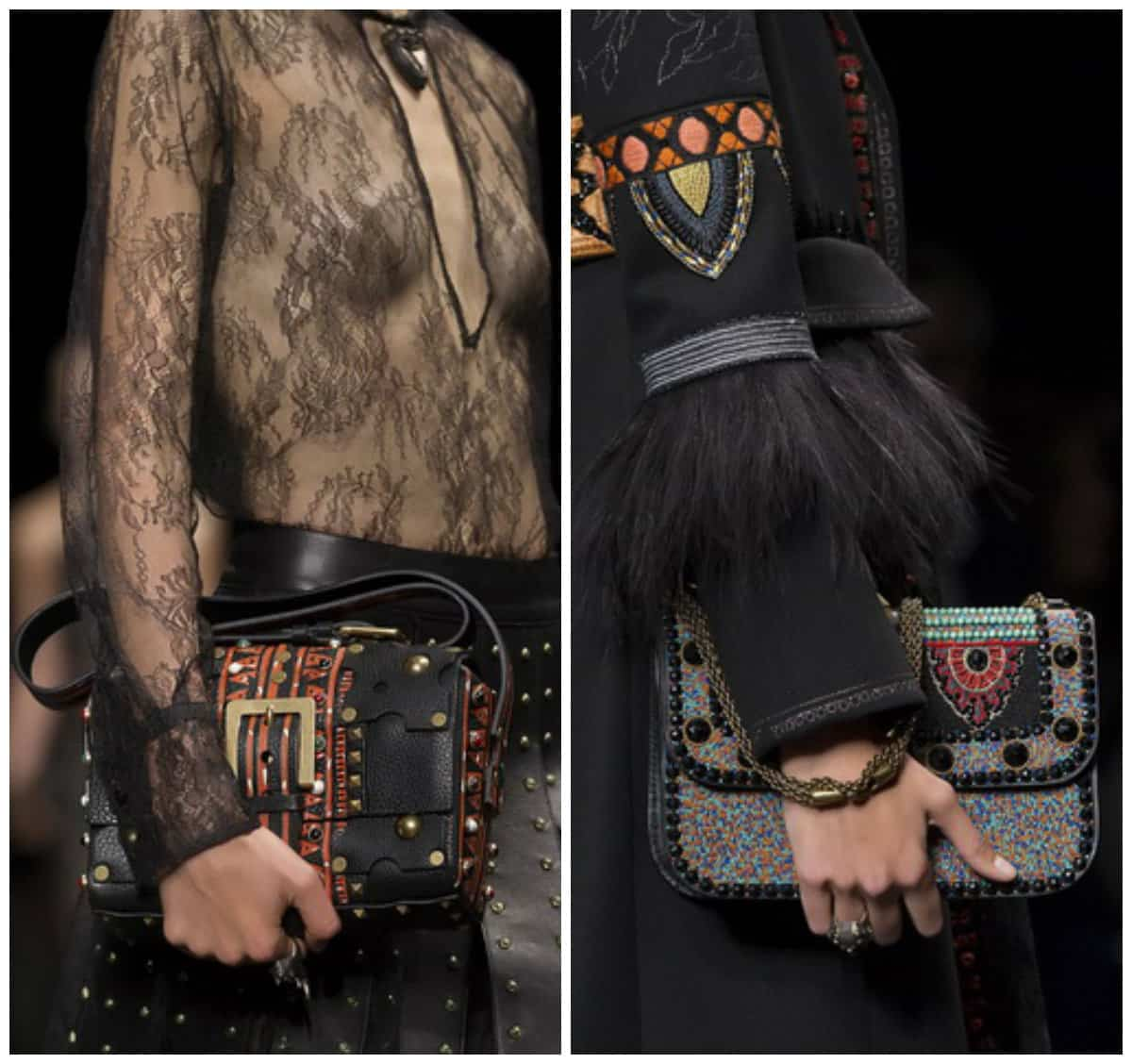 Ladies hand bags from Valentino Spring-Summer 2016