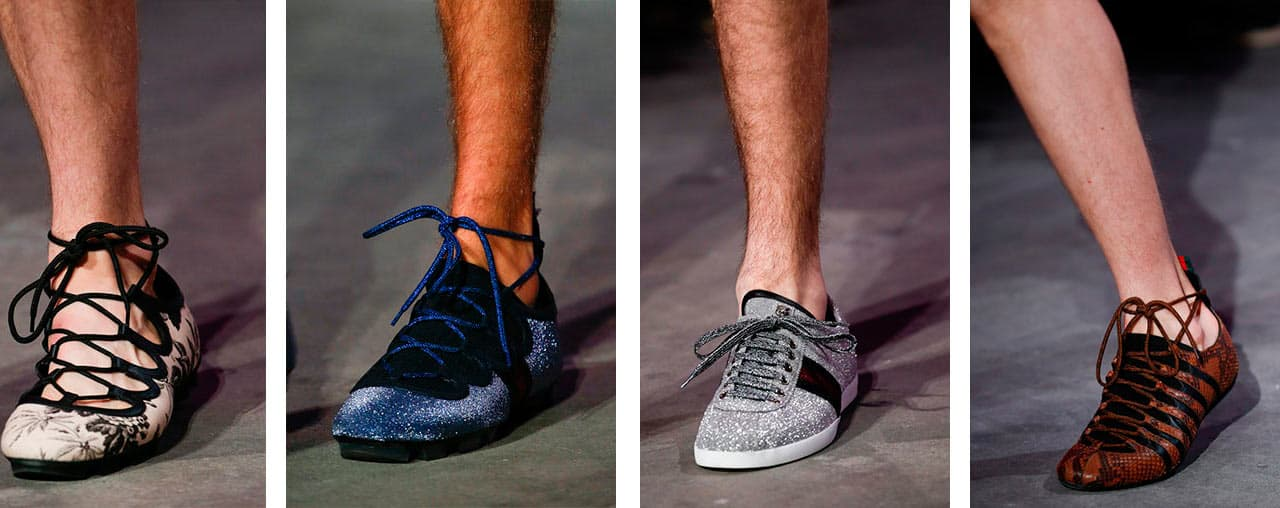 Men's fashion shoes trends spring-summer 2016