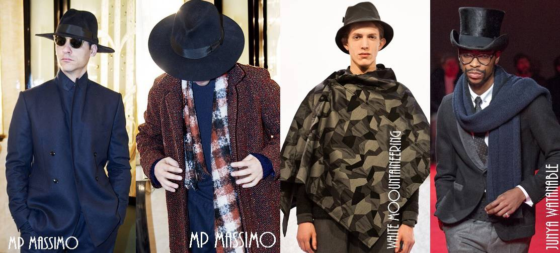 Men s hats and scarves trends Fall Winter 2015-2016 5e8f7b235e2