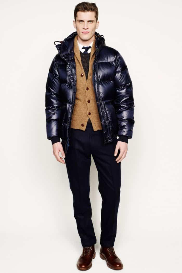 Men S Padded Jacket Trends Winter 2016
