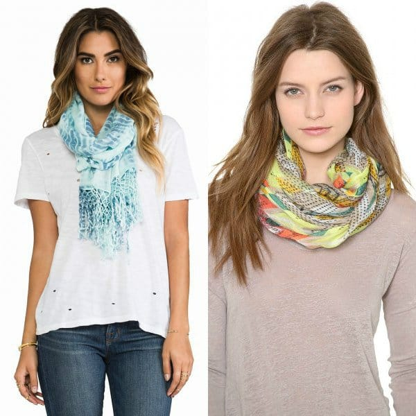 Women's scarves trends 2016