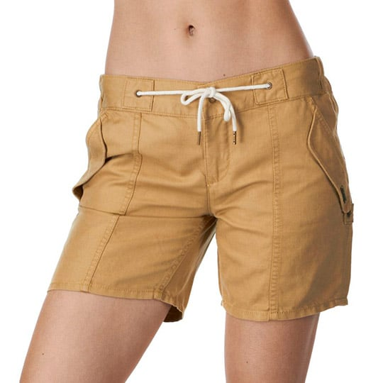 These shorts are perfect to sport with a graphic tee supporting your favorite sports team or with a polo-style shirt. Elevate the style of khaki shorts with a dark plaid button-up shirt and add slip-on sneakers.