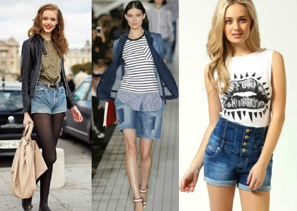 Trendy women's shorts 2016