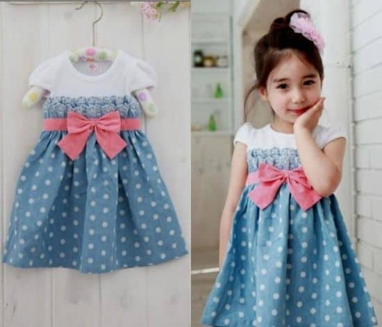 Kids clothes trends and tendencies 2017 for Childrens dress fabric