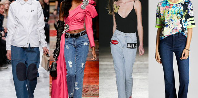 Fashion trends 2017 page 3 of 5 dress trends fashion - Jeans trend 2017 ...
