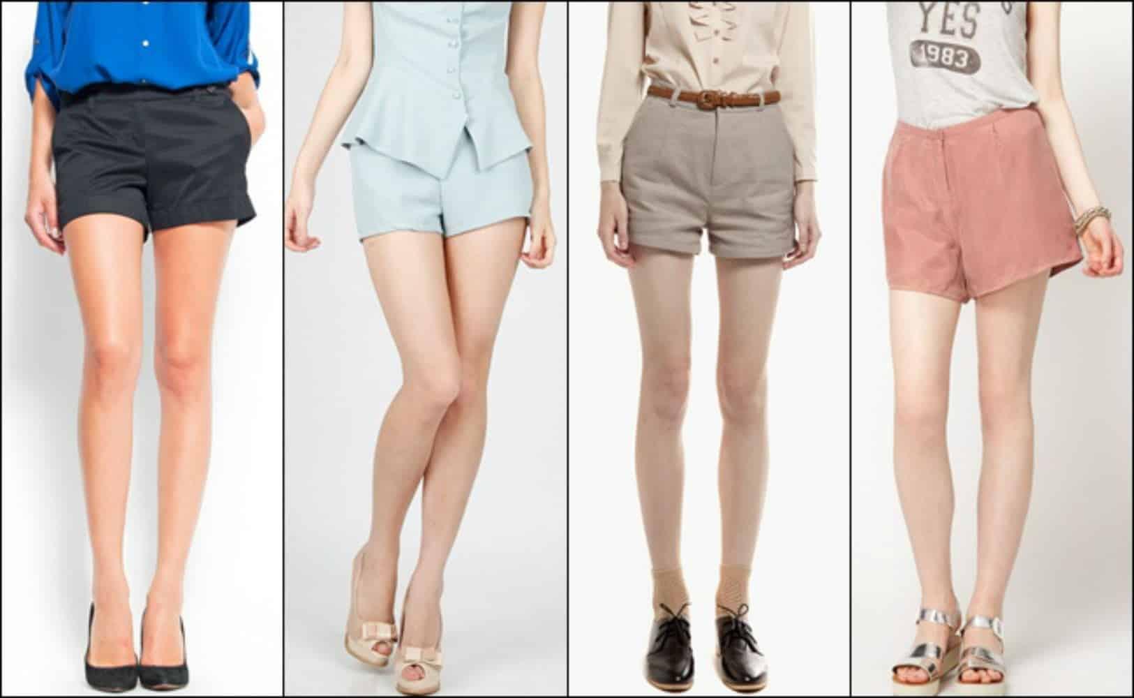Fashionable-womens-shorts-classic-shorts-women-classic-shorts