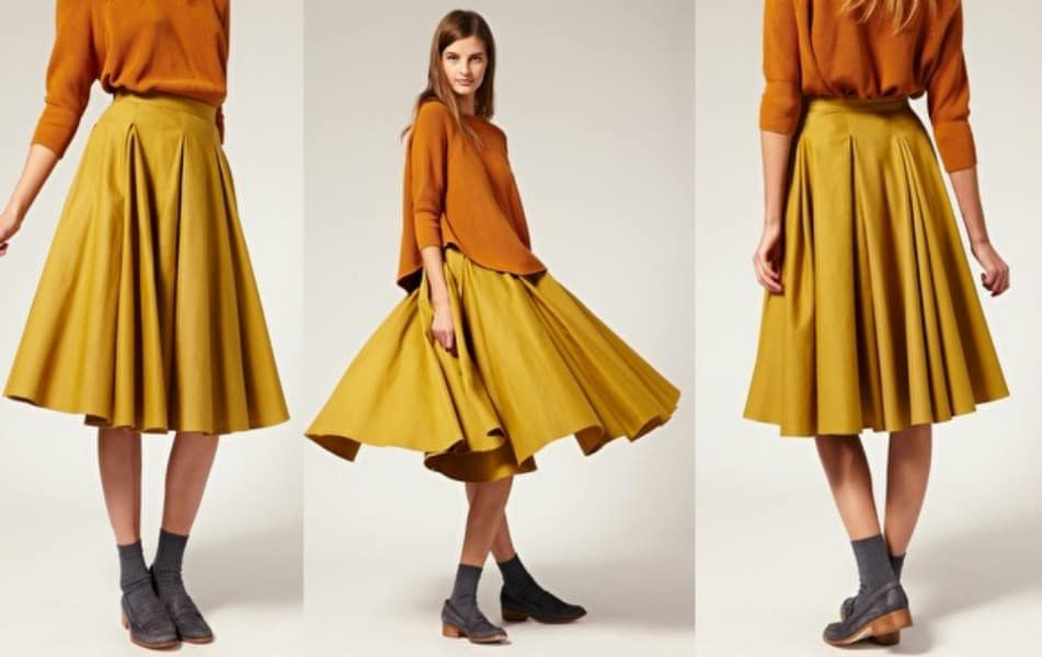 Resultado de imagen para midi skirts 2017